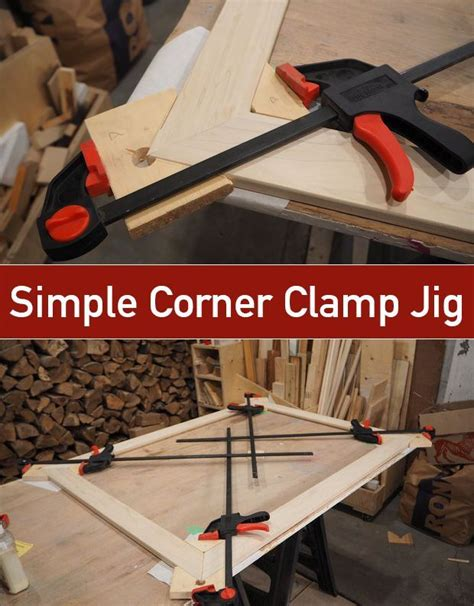simple corner clamp jig woodworking projects learn