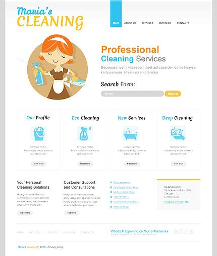 cleaning services template 30 best clean mobile ready responsive joomla 3 0 bootstrap