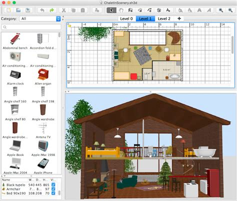home design 3d how to add windows how to add a scenery around your home sweet home 3d blog