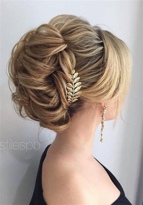 Wedding Hairstyles Braids Updo by 75 Chic Wedding Hair Updos For Brides Chongos