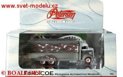 Hotwheels Ford Coe Petersen Automotive Museum ford coe petersen automotive museum white grey hotwheels hw l7869w svět modelů