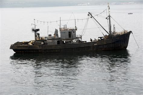 ghost ship new north korea ghost ship washes up in japan stoking