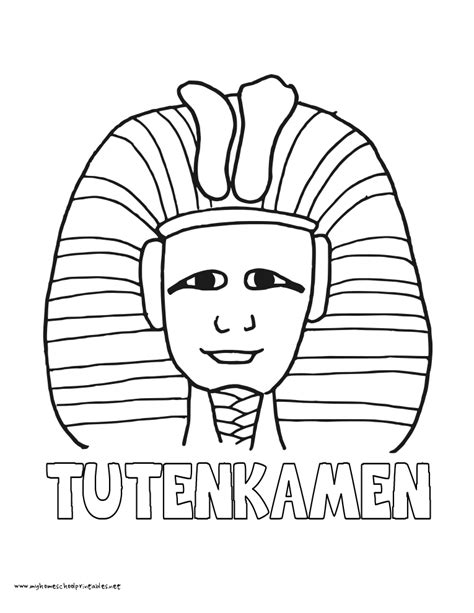 coloring pages king tut king tut coloring pages coloring home