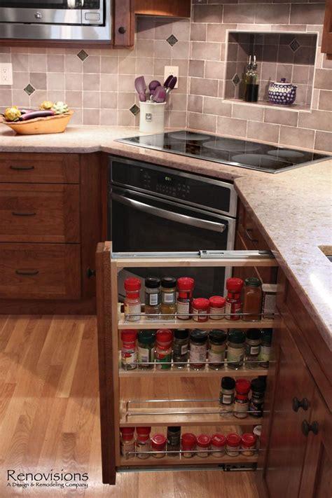 Slide Out Spice Racks For Kitchen Cabinets Best 25 Pull Out Spice Rack Ideas On Kitchen Spice Racks Kitchen Spice Rack Design