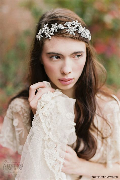 Wedding Hair Accessories Southton by Enchanted Atelier By Liv Hart Fall Winter 2015 Headpieces