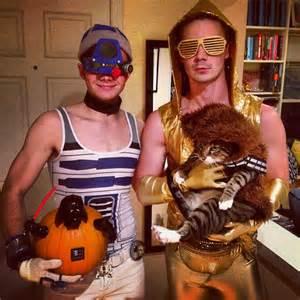 Halloween Peeps Glee Halloween Photos Chris Colfer Will Sherrod Naya Rivera