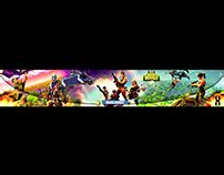 Most Appreciated Projects On Behance Fortnite Banner Template No Text