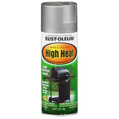 spray painter lowes shop rust oleum 12 oz silver flat spray paint at lowes