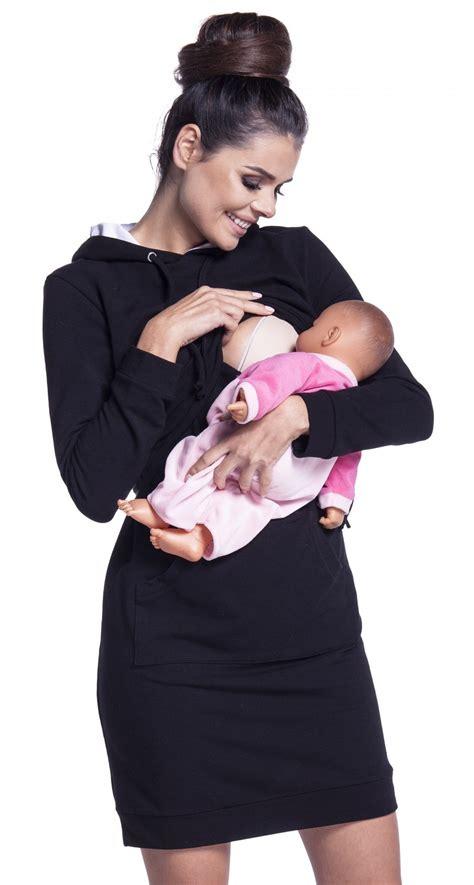 clothing shoes accessories womens clothing maternity nursing zeta ville women s maternity nursing sweat dress hood