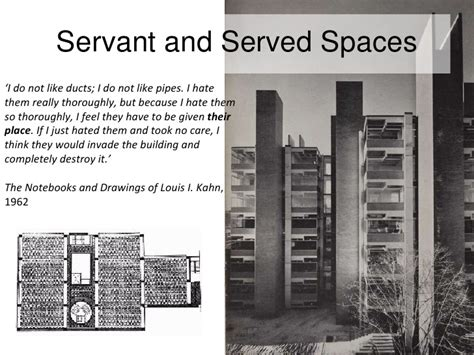 wolf residence servant and served spaces servant and served spaces