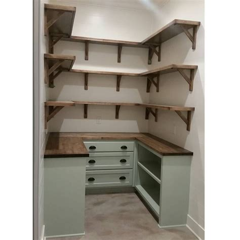 kitchen shelving ideas pinterest dream pantry is complete walls shiplap and painted