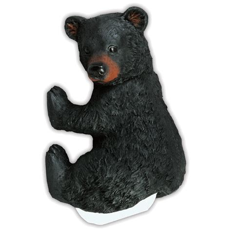bear toilet paper holder bear cub toilet paper holder