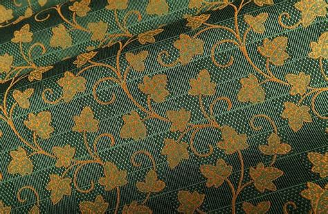 cottage upholstery fabric in green farmhouse