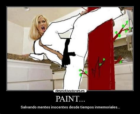 imagenes comicas de karate paint salvando mentes inocentes taringa