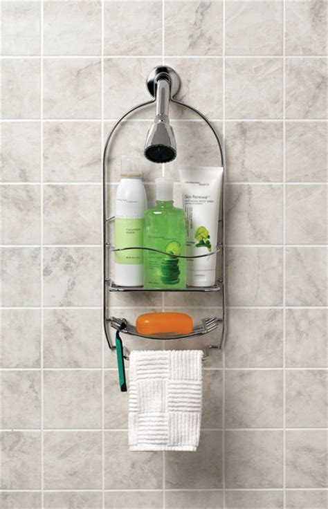 Bathroom Caddies Accessories Bathroom Storage And Organization Accessories Shower Caddies Cleveland By Spectrum