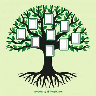 Family Tree Vectors Photos And Psd Files Free Download Tree Photo Collage Template