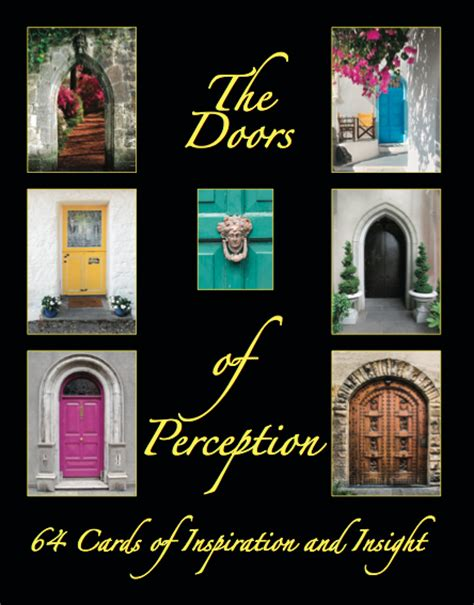 quot the doors of perception quot wisdom card pack and