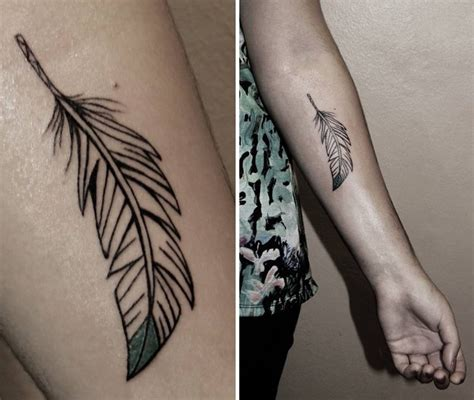feather tattoo photos black and white tattoos designs and ideas male models