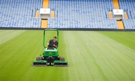 prepare sports fields for the priming the field with deere sports turf