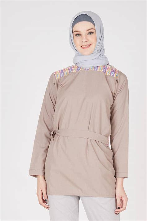 Hijabenka Bozira Top Atasan Wanita sell tunik uper batik parang tops hijabenka