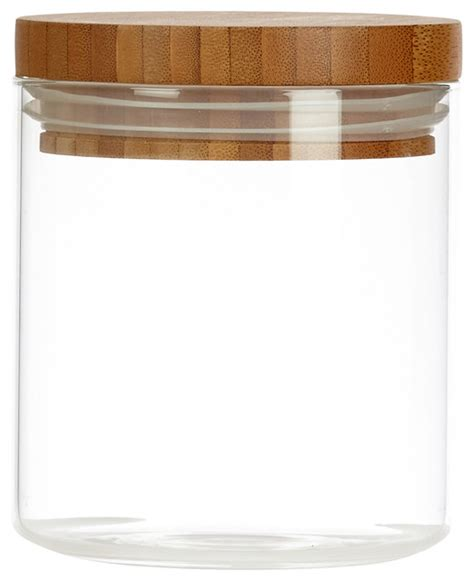 glass kitchen canisters airtight glassery airtight glass canister with wood lid