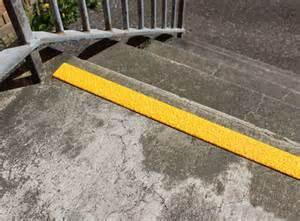 Stair Warning Strip by Anti Slip Decking Strip Non Slip Deck Strips Step Strips