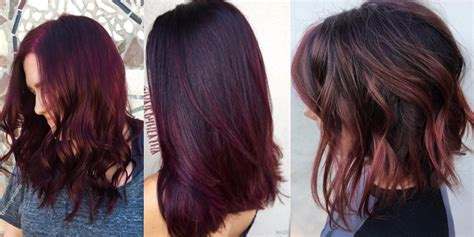 burgundy hair color 20 benefits of burgundy hair color hairstyles for