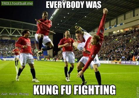Everybody Was Kung Fu Fighting by Everybody Was Kung Fu Fighting Troll Football