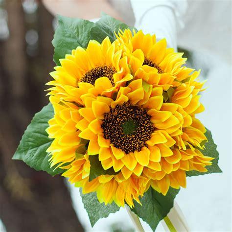 Wedding Bouquet Daisies by Wedding Boutonnieres Yellow Gerbera Gerber Silk Wedding