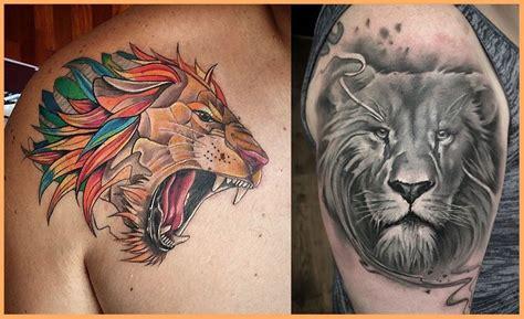 imagenes leones tatuajes tatuajes de leones videos de tatuajes de leones fotos de