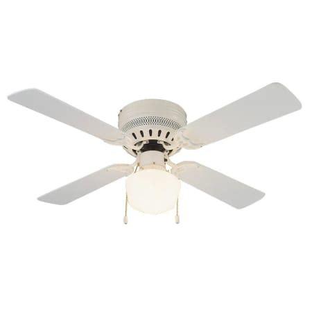 design house ceiling fan light kit design house 157958 white millbridge 42 quot wide hugger