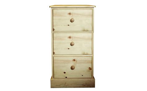 Pine Filing Cabinet 3 Drawer by Desks Kerris Farmhouse Pine