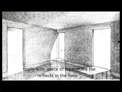 pencil shading  interior perspective  youtube