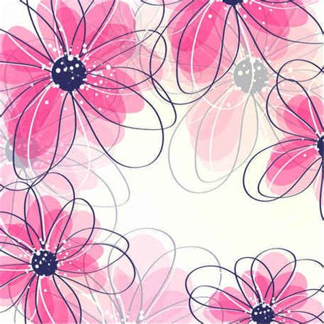imagenes vectores de flores fondo de flores vectoriales gratis vectores clipart me