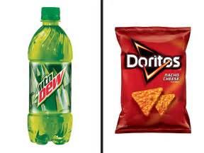 Pepsi tests doritos flavored mountain dew dewitos new soda flavors