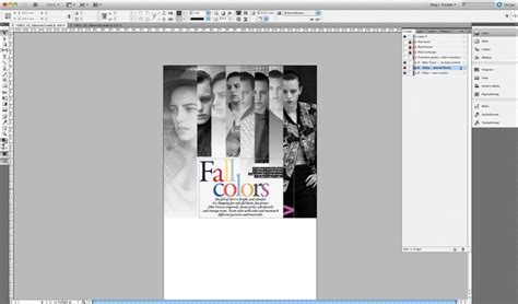 magazine layout template illustrator 123 best images about indesign on pinterest adobe