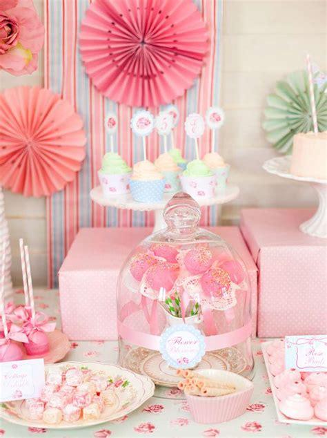 Shabby Chic Birthday Decorations by Shabby Chic Princess Birthday Ideas Photo 17