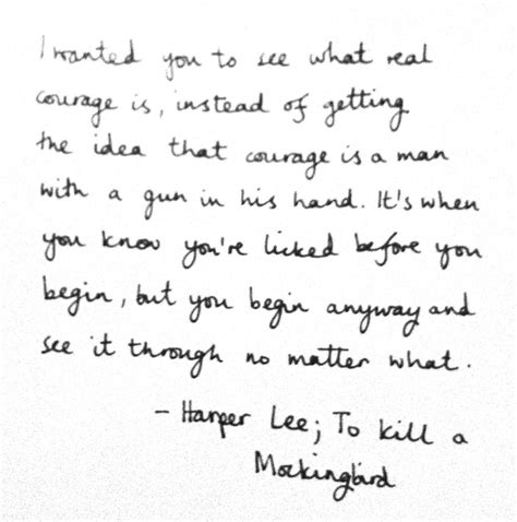 to kill a mockingbird themes on courage to kill a mockingbird courage quotes quotesgram