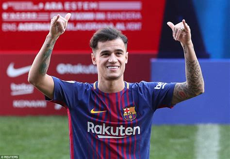 barcelona coutinho philippe coutinho unveiled as barcelona player at nou c