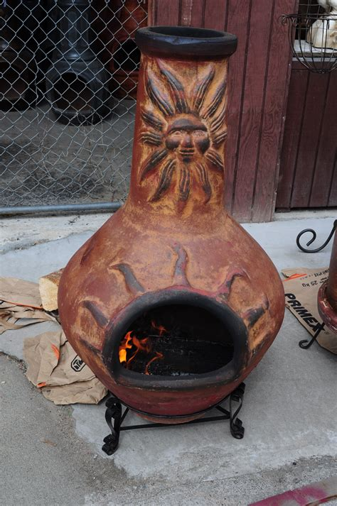 Mexican Fireplace Chiminea File Mexican Chimenea At S In Bothell Wa 01 Jpg