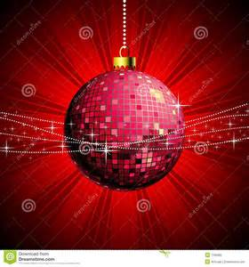 disco christmas illustration royalty free stock photo
