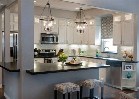closed kitchen home remodeling tips some hybrid open closed layout