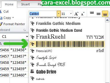 membuat barcode qr dengan excel cara membuat barcode dengan excel tips excel