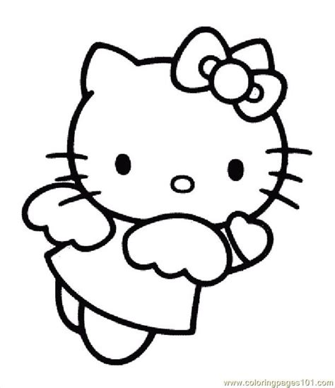 hello kitty coloring pages wallpapers hellokittycoloringpage