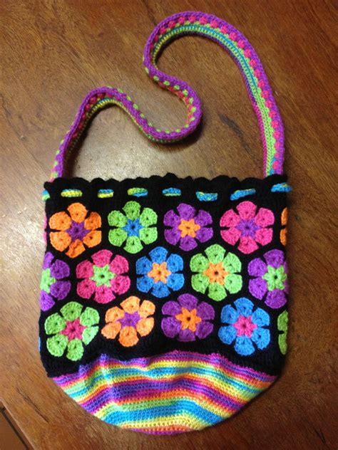 flower pattern luggage my second african flower bag no pattern just