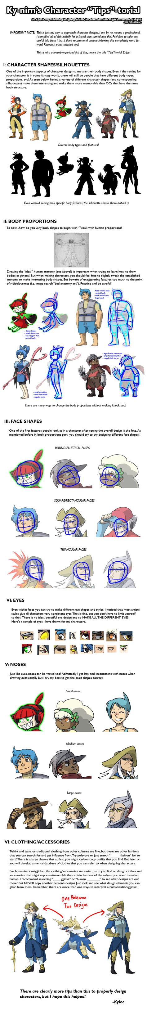 tutorial design character tutorial character design by ky nim on deviantart