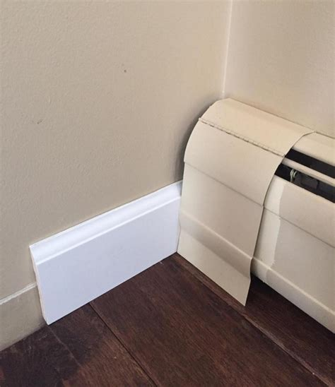Trim Against Baseboard Heater Doityourself Com Community