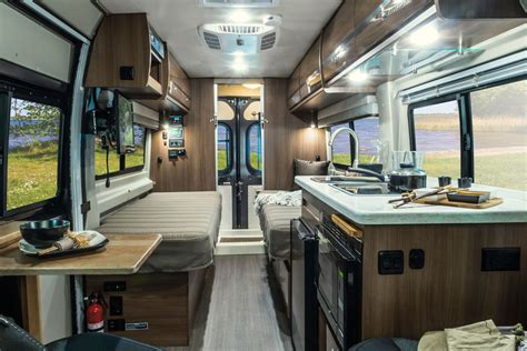 Class C Motorhome Floor Plans travato overview winnebago rvs