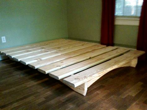 Handmade Bed Frame Plans - diy platform bed plans bed plans diy blueprints