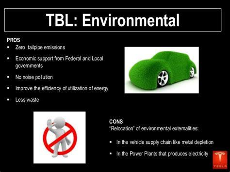 Tesla Environmental Impact Tesla Motors Presentation
